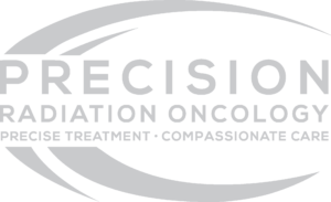 precision logo grey